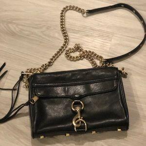 Rebecca Minkoff mini MAC bag in black